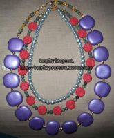 Lulu Cosplay Necklaces Revisit by CosplayPropsEtc