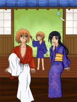 Rurouni Kenshin, the manga end by suishoo