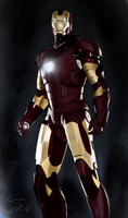 Iron Man by sudafreekan