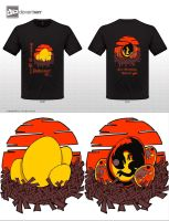 Dragon egg Tshirt by plainordinary1