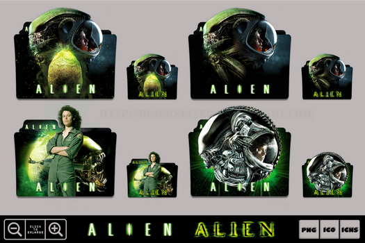 Alien (1979) Folder Icon Pack by Bl4CKSL4YER