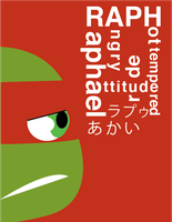 Raph and Type by ActionKiddy