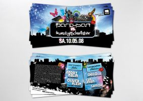 partysan flyer dinlang by homeaffairs