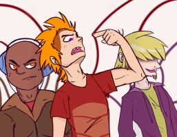 Listen up Chumps by Isa-Isa-Chan