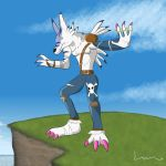 Weregarurumon by Louisetheanimator