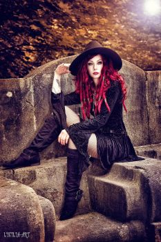 autumn witch by Drastique-Plastique