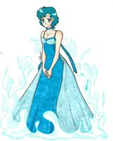 Princess Mercury by IlariaSometimes