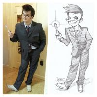 Sam/Dr Who Commission by Banzchan