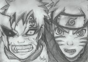 Dont mess with us Jinchuurikis by shadowolf016