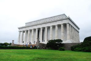 Lincoln Memorial by Lady-Jen