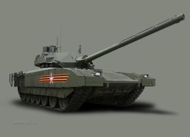 New Russian MBT: T-14 Armata by Dreamscripter