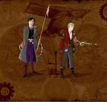 A study in SteamPunk by corbeauprophet