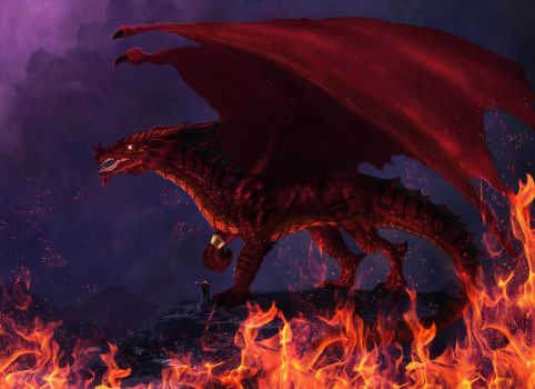 The Great Red by Netarliargus