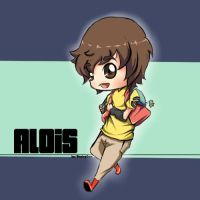 ALOIS PokemonOC ChibiVersion by BlazingCore