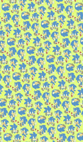 Sonic Green Background by Myly14