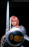 Final Fantasy XIII-2 -- Lightning by maneki-husky