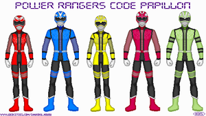 Power Rangers: Code Papillon by Ameyal