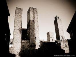 Towers II by marcellomasiero
