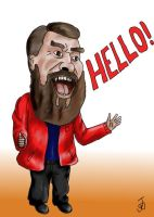 Brian Blessed by JbobW