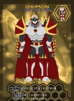 Bnb 2015 Evolution Block: AegisKnightmon by Omnimon1996