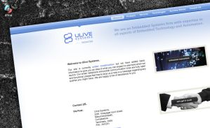 Webdesign: Ulive Systems by vijay-dffrnt