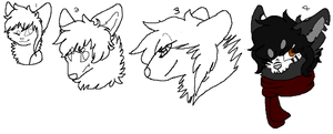 Bamboo tablet practice 123 and 4 by PI0SON
