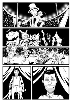 The day the clown cried page 3 by Kukurobuki
