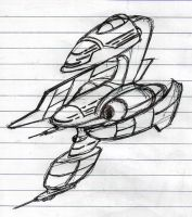 """Dreyon"" Cruiser concept WIP by Inquisitor-No-7"