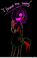 Ib: ''I was careless as Carrie!'' by criepyrainbows123