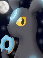 Character Portrait: Umbreon by EvanDaMaster
