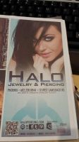 HALO Piercing Ad in the January 2014 JAVA Magazine by tatehemlock