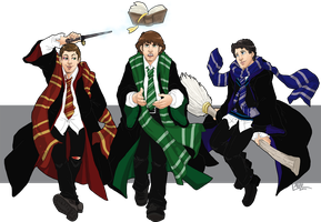 No Just Dean, You Are a Wizard by GI-Ace