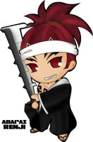 Bleach: Chibi Renji by milagros23