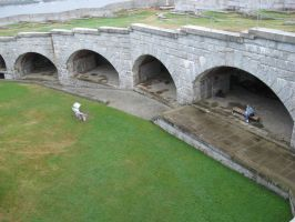 Fort courtyard 2 by Reyphotos