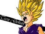 Teen Gohan by Levesque-Phenomenal