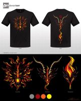 Fire Chimera - dA Design Challenge by Nanaga