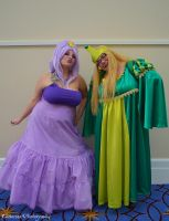 Cosplay - LSP and Turtle Princess 2 by SammehChu