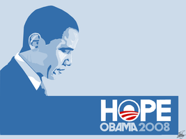 Barack Obama Vector by maxzon