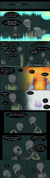 [UNDERTALE SPOILERS] Comfort where you find it by zarla