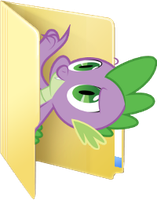 Custom Spike folder icon by rileystrickland