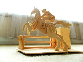 Woodcraft Construction kit by GraceDoragon