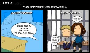J to J: The difference by KamiDiox