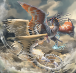 sky battles tho by Appletail