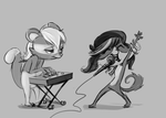 Groovin' with Ryu and Zoe by Caeledonian