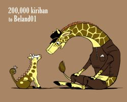 OP+PKMN - kiriban for beland01 by FerioWind