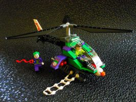 Lego Joker's Helicopter by DreamsCatchMe