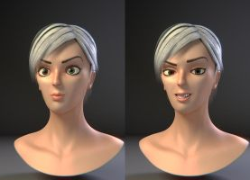 Face Rig Test by Duffator