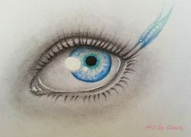 Blue eye by ilinea