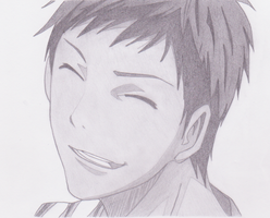Daiki Aomine by shirley0525