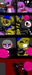 FNAF Comix 17 by flora1293